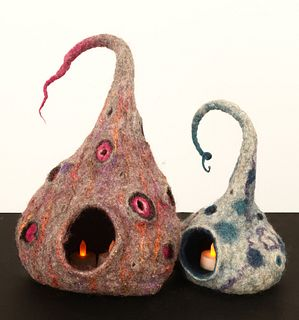 CAROLANN TEBBETTS, Set of Two Luminaria
