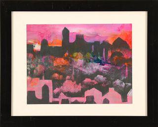 ROSEMARIE MANSON, Glowing Sunset