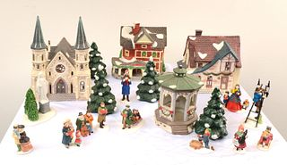 DEPARTMENT 56, Christmas Village Set