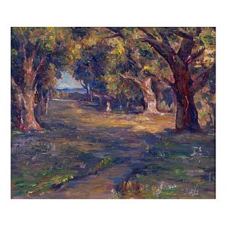John A. Dominique, Path through the Oak Grove