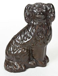 Stoneware Spaniel Figure