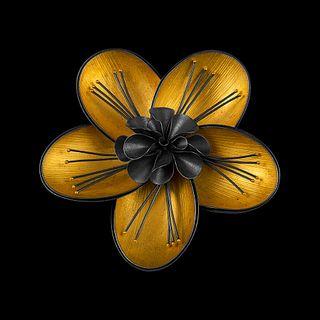 Spoonflower Pin/Pendant