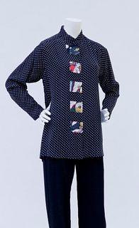 Style 5105 Tunic Dots/ Geisha