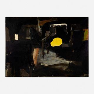 Robert S. Neuman, First Black Painting