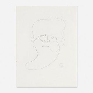 Alexander Calder, Portrait of James Jones