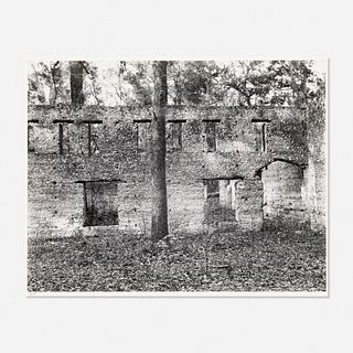 Walker Evans, Ruin of Tabby (Shell) Construction, St. Mary's, Georgia, 1936 from the Walker Evans: Selected Photographs portfolio