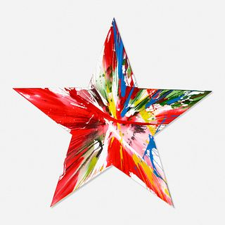 Damien Hirst, Star Spin Painting