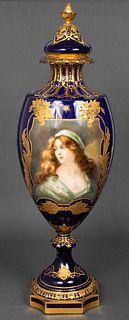 Royal Bonn Art Nouveau Porcelain Palace Urn