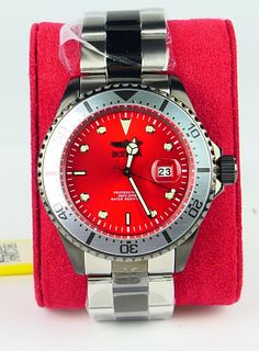 INVICTA PROFESSION STAINLESS STEEL WATCH