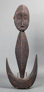 Papua New Guinea Sepik Figural Suspension Hook