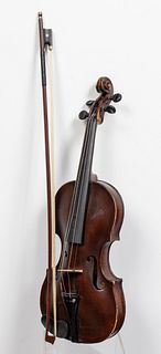 J. Altrichter Antique German Violin with Bow