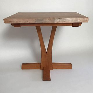 Live Edge Cherry Cafe/Game Table
