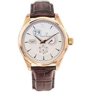 CARL F. BUCHERER MANERO POWERRESERVE. 18K PINK GOLD. REF. 00.10912.03.13.01