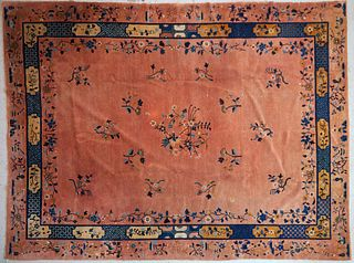 Early 20th c. Chinese Wool Rug