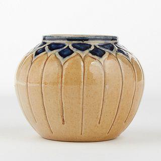 Sadie Irvine Newcomb College Pottery Organic Vase