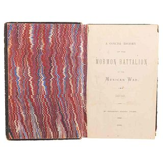 Tyler, Daniel. A Concise History of the Mormon Battalion in the Mexican War 1846 - 1847. Washington, 1881.
