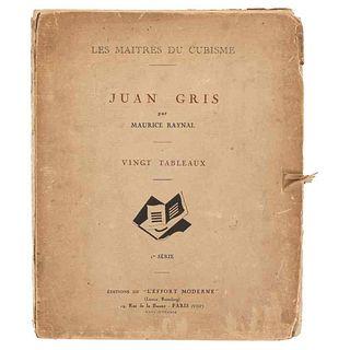 Raynal, Maurice. Les Maîtres du Cubisme: Juan Gris. Paris, 1920. 20 láminas. Edición de 100 ejemplares numerados, ejemplar número 33.