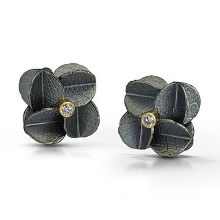 Mini Cube Urban cluster earrings