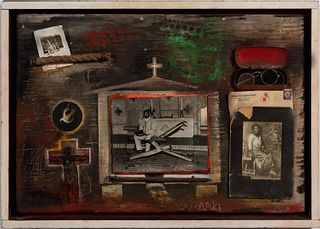 AMALIA AMAKI, THE CHURCH FIRE, ASSEMBLAGE