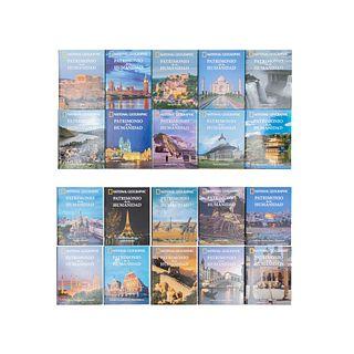 Colección National Geographic. Patrimonio de la Humanidad. España: RBA Contenidos Editoriales y Audiovisuales, 2015. Piezas: 20.