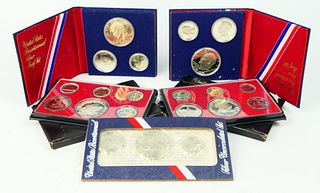 LARGE UNCIRCULATED LOT OF BICENTENNIAL COIN SETS