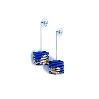 BLUE CERESA EARRINGS GL