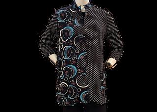 Mixed Pattern Tunic