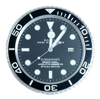Rolex Submariner Dealers Showroom Wall Clock