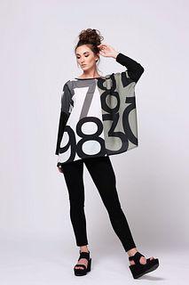 Poly Crepe Oversize shirt Large/XLarge