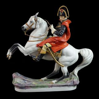 "Royal Worcester ""Napoleon Bonaparte"" Figural Group"