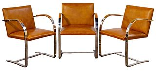 (Attributed to) Ludwig Mies Van Der Rohe 'Brno' Chairs