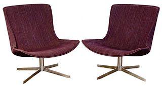 MCM Swivel Lounge Chairs