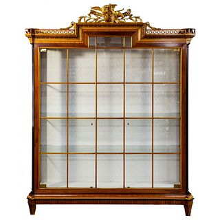 French Empire Style Display Cabinet