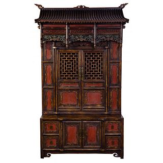 Asian Cabinet and Base