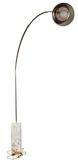 Pier & Achille Castiglioni Chrome 'Flos Arco' Floor Lamp