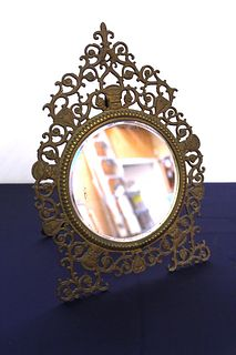 Decorated Mirror with Stand
