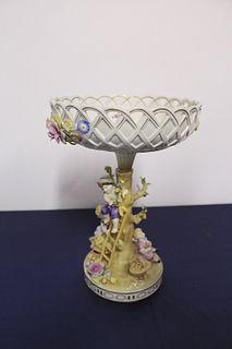 Plaue Schierholz Decorative Porcelain Centerpiece