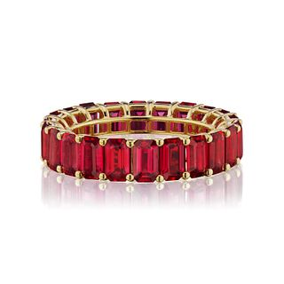 OCTAGON RUBY BAND