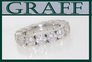 Graff Platinum Diamond Eternity Retail $40,000