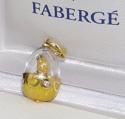Rare Limited Edition Faberge Egg Pendant