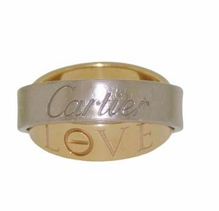 Cartier 18K Love Secret Ring Retail $3,200