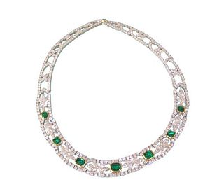 Tiffany & Co Emerald & Diamond Retail $425,000