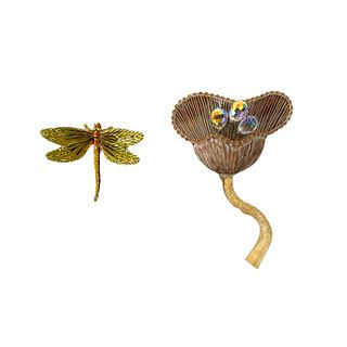 Flower and Dragonfly Fashion Accessories