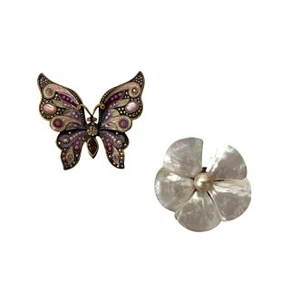 Jay Strongwater Butterfly Broach