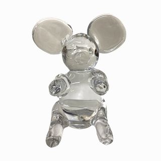 Crystal Mouse Sculpture
