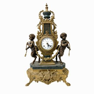 French Style Bronze Clock