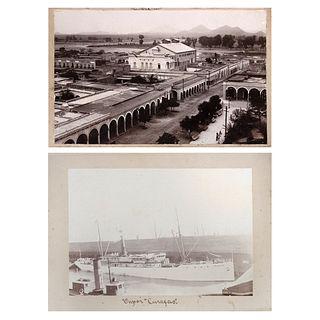 "UNIDENTIFIED PHOTOGRAPHER, Fotografías de Sinaloa, Unsigned Vintage prints on cardboard, 7 x 10"" and 5.1 x 8.4"" USD $180-$360"