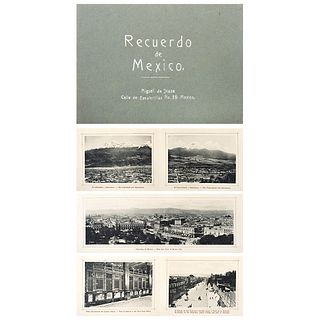 """GUILLERMO KAHLO, Signed from negative, Fold-out book, 4.3 x 6"""" (11 x 15.5 cm), Pieces: 10 images in album"""