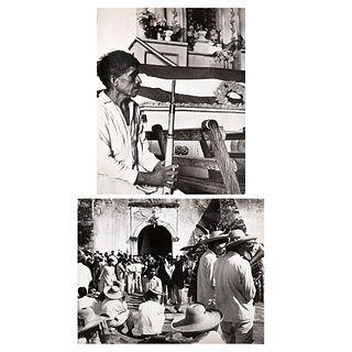 """HERMANOS MAYO, Restos de de Cuauhtémoc, Unsigned Vintage prints, 5.3 x 6.6"""" each USD $180-$360"""