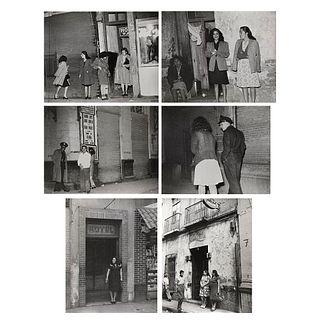 "HERMANOS MAYO, Prostitutas, México, 1950, Unsigned Vintage prints, 5.4 x 6.8"" each USD $270-$540"